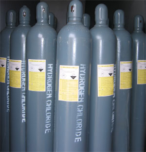 氯化氢使用过后的气体如何处理?